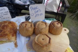 Traditional pork pies using pastured pork and no additives